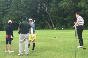 ゴルフイベントで千葉まで行って来ました。